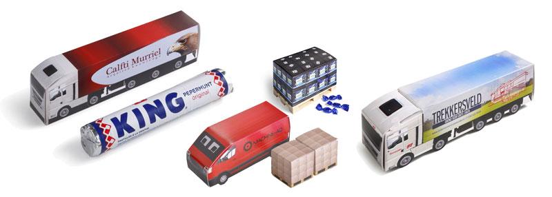 Lastbiler med eget design